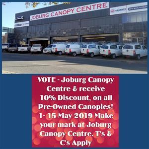 CANOPY ISUZU 2005-2011 SINGLE CAB L/L CARRYBOY 0989