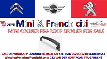 MINI COOPER R56 ROOF SPOILER FOR SALE