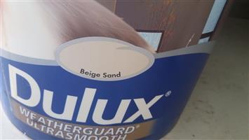 Sealed 20 Litre Dulux exterior paint for sale