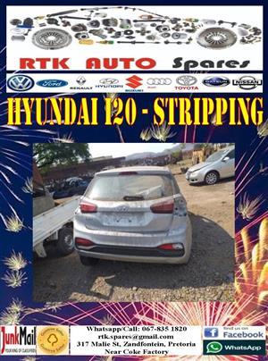 Hyundai i20 (2015-2019) - Stripping for Spares