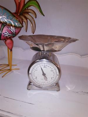 Vintage kitchen scale for sale