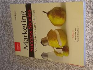 Marketing Success Stories - South African Case Studies, 7th Edition (M.Cant & R.Machado) for sale.