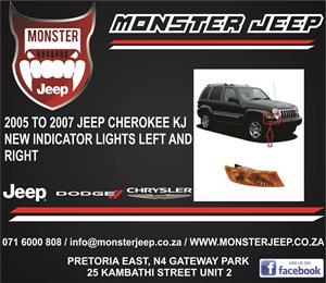 Jeep Cherokee Liberty KJ Indicator lights