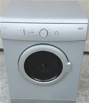 Defy silver tumble dryer