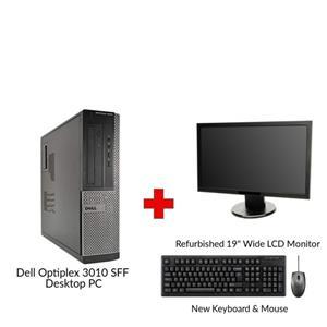 Refurbished Dell Optiplex 3010 SFF Desktop PC – Professional
