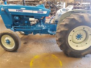 Ford 3000 from R49,000           Ford 7600   Refreshed very neat.