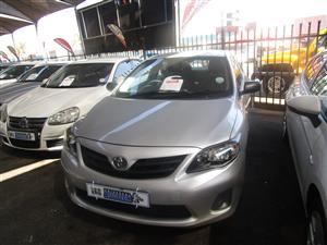 2015 Toyota Corolla 1.6 Advanced