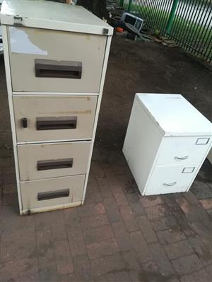 Big and small office filing cabinets