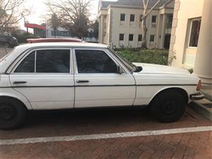 1984 Mercedes Benz 230E