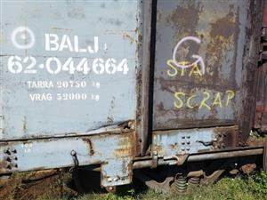 40 131 kg Wagons - Germiston - ON AUCTION