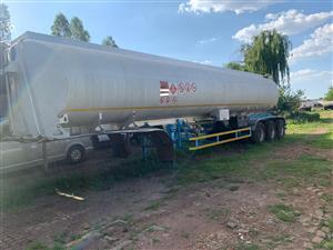 Used 2010 SA Road Tanker 46 000LT Tri Axle Fuel Tanker for sale