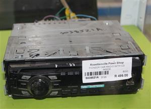 PIONEER CAR RADIO WITH CD INSIDE S038521A #Rosettenvillepawnshop