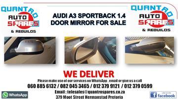 Audi Q3 2.0 tfsi 2014 Door mirror for sale