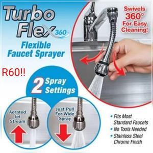 Flexible faucet sprayer