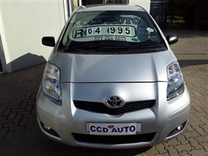 2010 Toyota Yaris hatch YARIS 1.5 Xi 5Dr