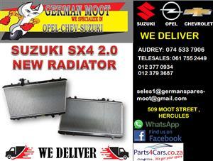 SUZUKI SX4 2.0 NEW RADIATOR FOR SALE