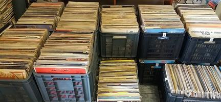LP's - Vinyl Records. In very good condition. Music from the 50's, 60's, 70's, 80's Jazz House Disco Maxi's Reggae Rock. all different kinds of music