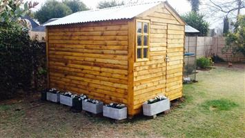 Quality 2mx2m storage tool shed wendy houses