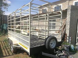 Trailer for livestock