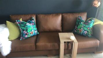3 seater couch immigration leather