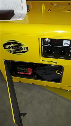Generator SDG8500 SE DIESEL