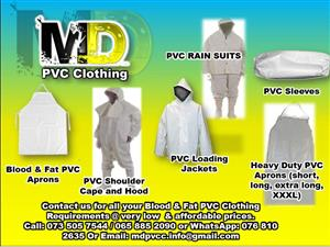 PVC Blood & Fat Clothing