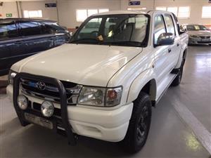 2002 Toyota Hilux double cab HILUX 3.0 D 4D RAIDER 4X4 A/T P/U D/C
