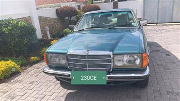 1982 Mercedes Benz 230CE