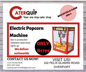 Electric Popcorn machine for sale
