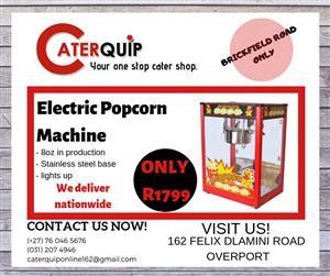 Electric Popcorn machine for sale