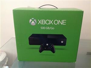 Xbox one 500gb console includes all cables and 1 control price R2799