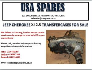 JEEP CHEROKEE XJ 2.5 TRANSFER CASES (FOR SALE)