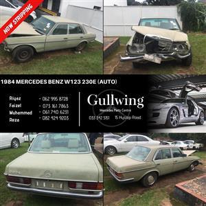 1984 MERCEDES BENZ W123 230 E