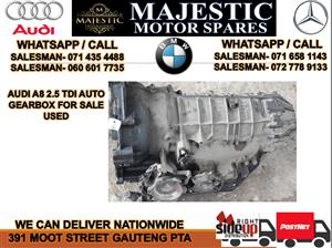 Audi A8 2.5 tdi auto gearbox for sale