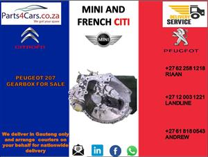 peugeot 207 gearbox for sale
