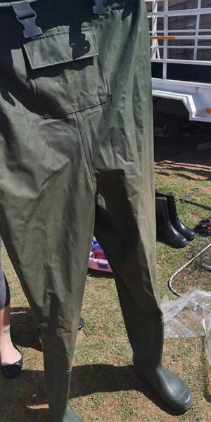 Green fishing suit for sale