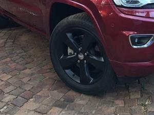 "Jeep GRAND CHEROKEE 20"" rims for sale"