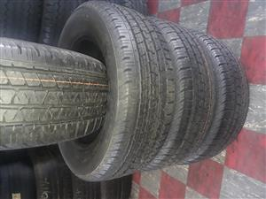 265 / 60 / 18 Continental tyres