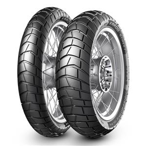 Do you need adventure bike tyres, Metzeler KAROO Street 150 x 17 & 110 x 19 combo set