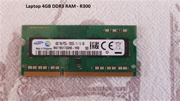 Laptop 4GB DDR3 RAM