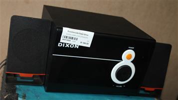 Dixon computer speakers S031392A #Rosettenvillepawnshop