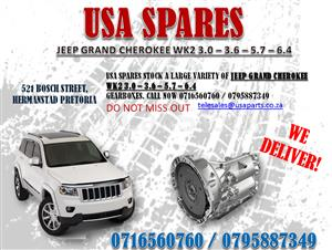 JEEP GRAND CHEROKEE WK2 3.0 3.6 5.7 6.4 GEARBOXES- FOR SALE