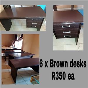 2 x desks R250 ea