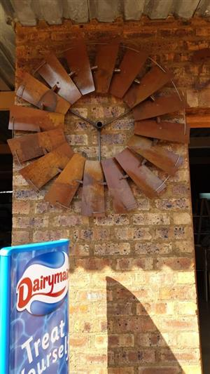 Wall Mounted Windmill Wheels for Decoration