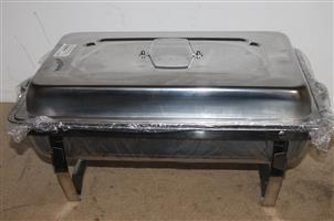 Stainless steel food warmer S037242A #Rosettenvillepawnshop