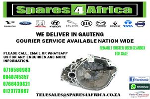 RENAULT DUSTER USED GEARBOX FOR SALE