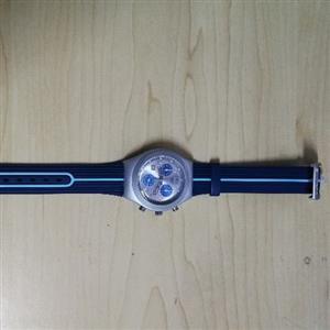 Bluish Swatch Watch