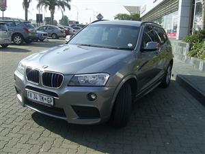 2012 BMW X3 xDRIVE 20i M SPORT (G01)