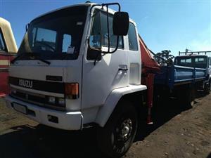 Isuzu FTR49L Dropside Crane Truck