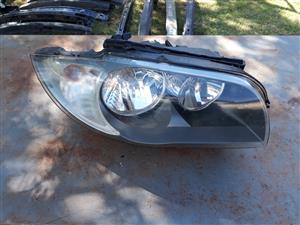BMW E82 & E87 1 Series Right Side Headlight